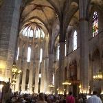 Inside Santa María del Mar