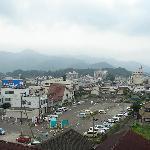 客室からの眺め、白石城