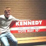 Benj at the JFK Museum and Library, Boston.