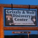 Grizzly and Wolf Discovery Center Aufnahme