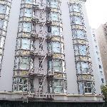 Facade de l'hotel