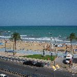Parte della spiaggia cittadina