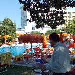 festa dell'anguria in piscina