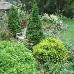 Flower Garden behind the Eby home