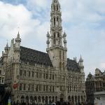 Groot Markt, Grand place Town Hall Bryssels