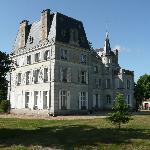 Château vu de la mare