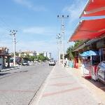 Main street in Calis - yeah quite quiet but the festival was starting that day so no doubt it go