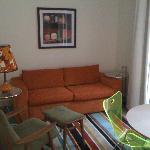 Debretts 'loft' living area