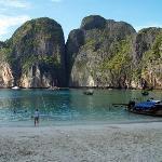 Maya Bay located amongst the Phiphi Islands off Krabi