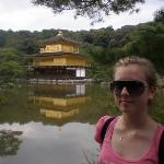 kinkakuji temple - that's right, it's made of gold!