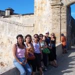 Viejo San Juan, Castillo San Felipe del Morro... que lindas todas las mamás