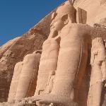 Abu Simbel ja Ramses II
