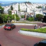 Lombard Street in Downtown San Francisco