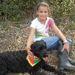 Izzy the Portugese water dog