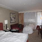 """Room with King size bed and 'rollaway"""""""