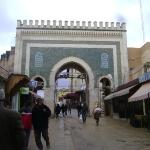 entrance to medina of fes