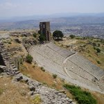 Views from atop Pergamon's Acropolis
