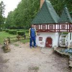 Little house at the Korolev park