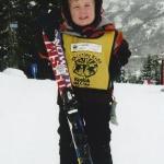 My little skier!