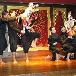 The Baan Boran master puppet show