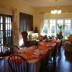 very comforable dinning room