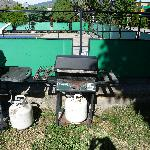 An example of the BBQ's they have available for their guests.  All of the BBQ's look like they w