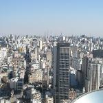 Vista parcial de São Paulo desde el Edificio Banespa