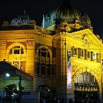 Flinders Street Station ภาพถ่าย