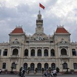 07-May Day 2~ Ho Chi Minh City 胡志明市  People's Committee Building