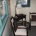 english holly sitting area