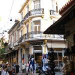 In the Plaka neighborhood of Athens.