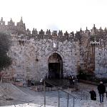 Damascus Gate!  This is the wider view of the backdrop of my current profile picture.