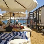 On the beach at Naama Bay, Egypt