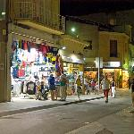 Calella town centre is alive and buzzing every evening