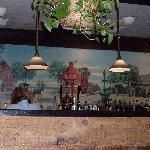 Wall decor at Hearth n Kettle