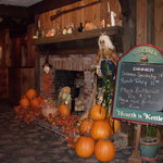 Fall decor at Hearth n Kettle, South Yarmouth