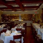 Interior Restaurante Cafe Ragazzi, mi lugar de trabajo, en aquella linda experiencia.  Av. Har