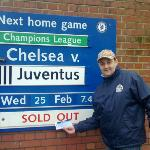 CHELSEA STADIUM...SOLD OUT