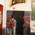 El Hostal. The Circus.  Bueno, bonito, y barato!