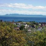 Sleeping Giant as it's known in Thunder Bay, is a natural rock peninsula in the shape of a giant