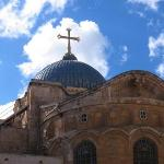The Church of the Holy Sepulchre.  So this is where the majority of Christianity believes Christ