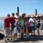 family and friends in Lisboa