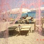 ...dal ristorante in spiaggia