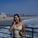 Me on Santa Monica's Pier, CA, Summer 2008