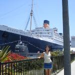 Me & Queen Mary, Long Beach, CA, Summer 2008
