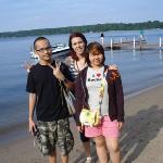 Max, Me & Tukta on Gull Lake