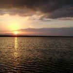 sun set en nicaragua aroun 530 ish