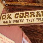 O.K. Corral ภาพถ่าย