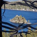 Fannette Island in Emerald Bay