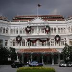 The famous Raffles hotel (the home of the Singapore Sling!)